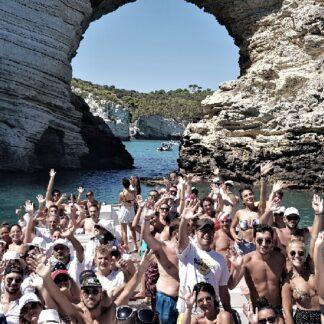 Grotte Del Gargano in Barca